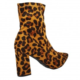 Bottine léopard