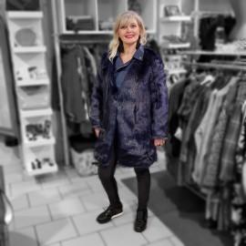 Combi manteau perfecto fourrure
