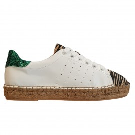 Sneaker espadrille blanche Vanessa Wu