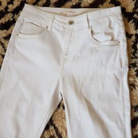 Jean blanc bootcut