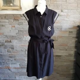 Robe noire sans manche CHATTAWAK