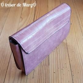Petit sac à main rose