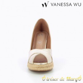 Sandale compensée Vanessa Wu