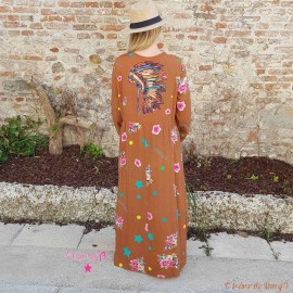 Robe Indien de chez CHANTAL B