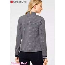 Veste blazer avec motif minimaliste