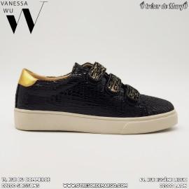 Basket noire VANESSA WU